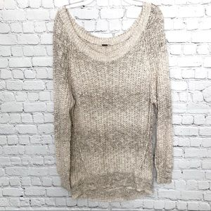 Free People / Star Dune Marled Pullover